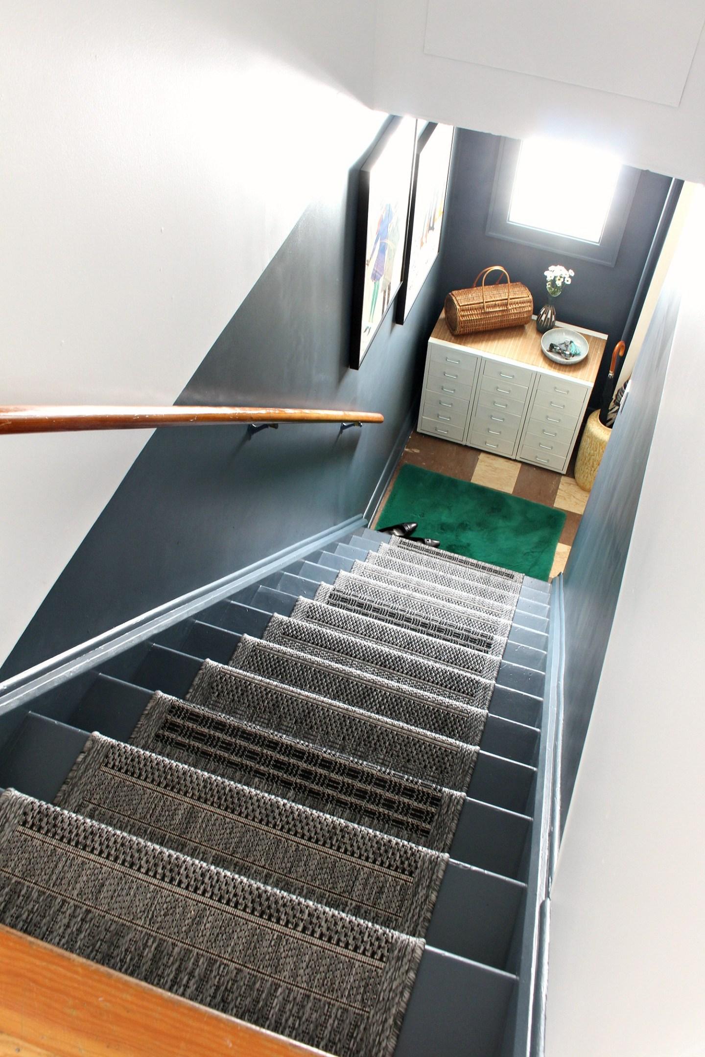 Budget-Friendly DIY Stairwell Makeover