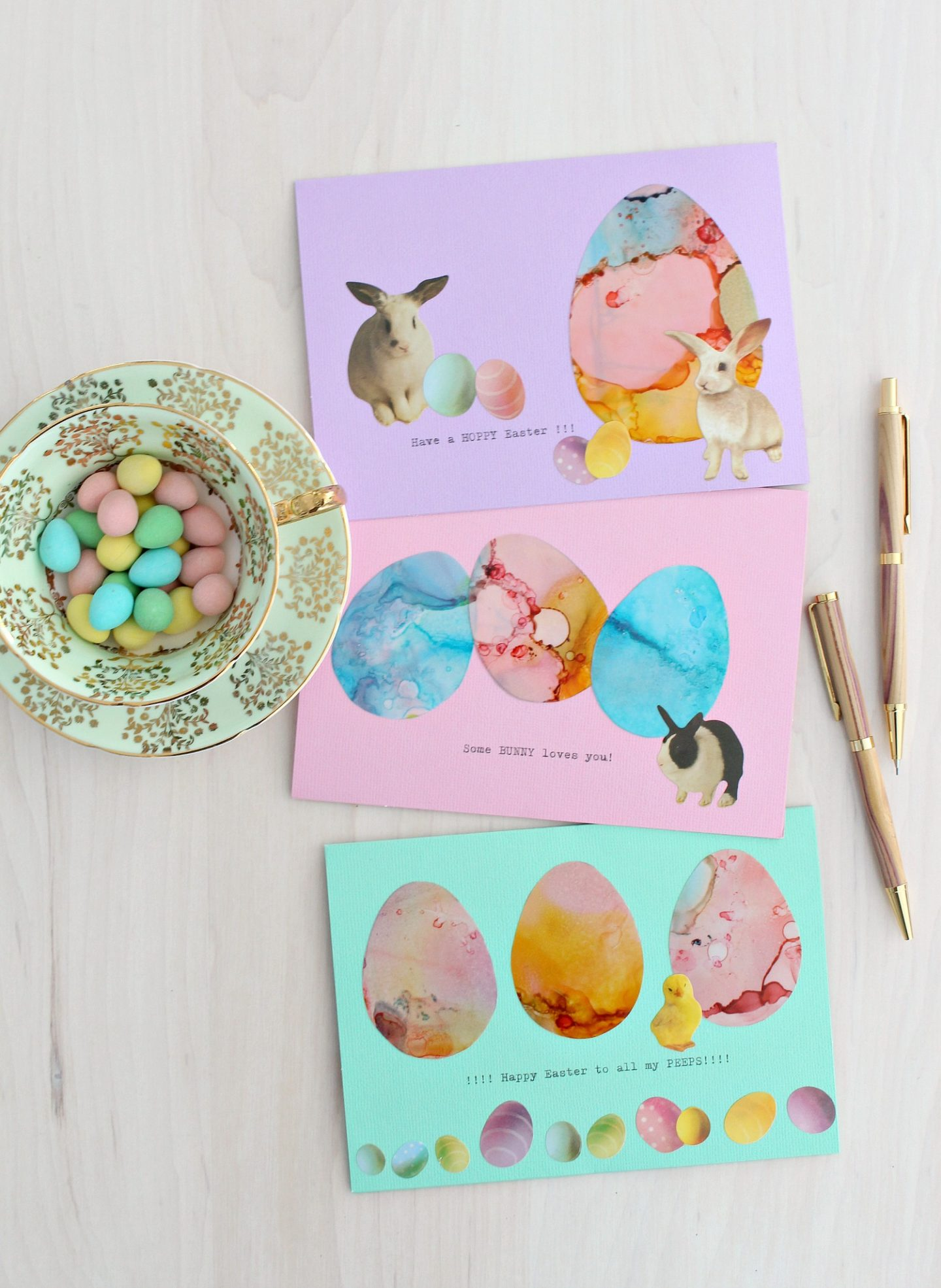 how to make Easter cards
