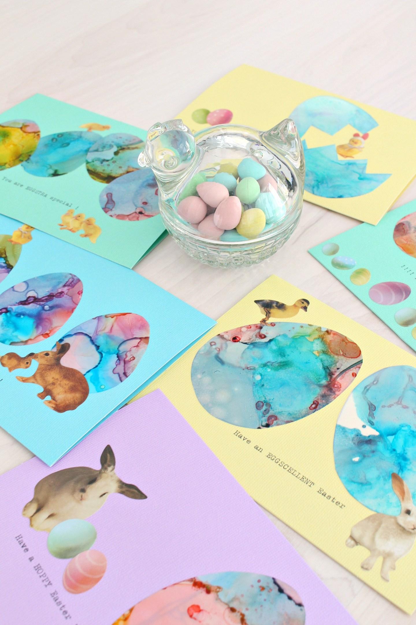 handmade cards for spring