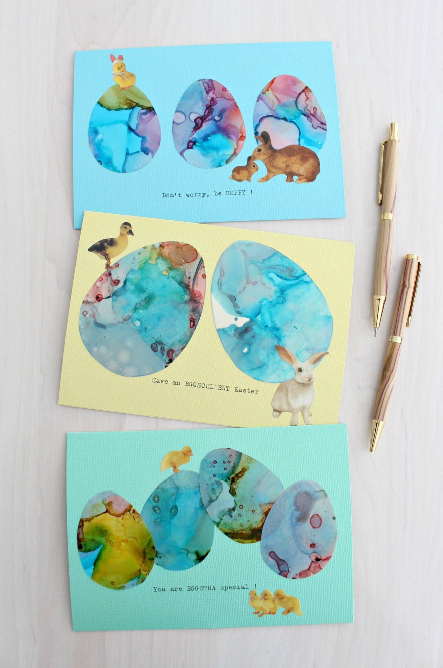 Easter pun cards