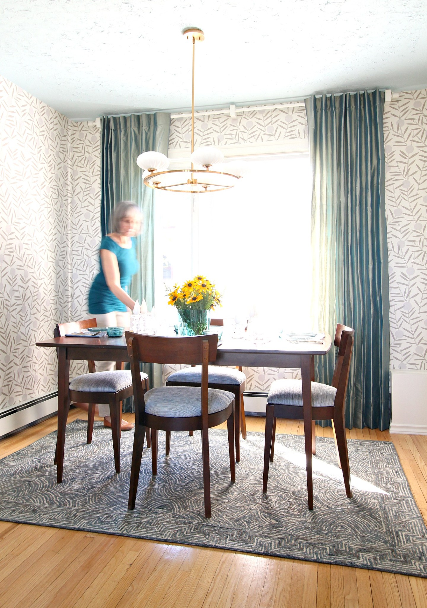 Mid-Century Modern Inspired Dining Room Makeover Reveal