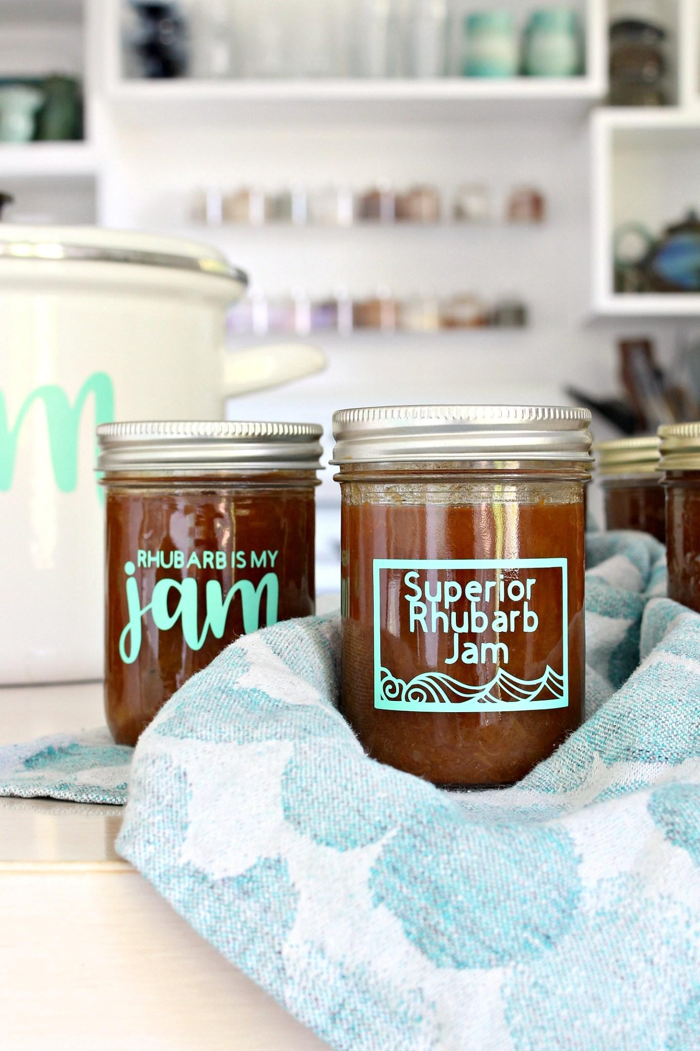 DIY Jam Jar Labels with Cricut