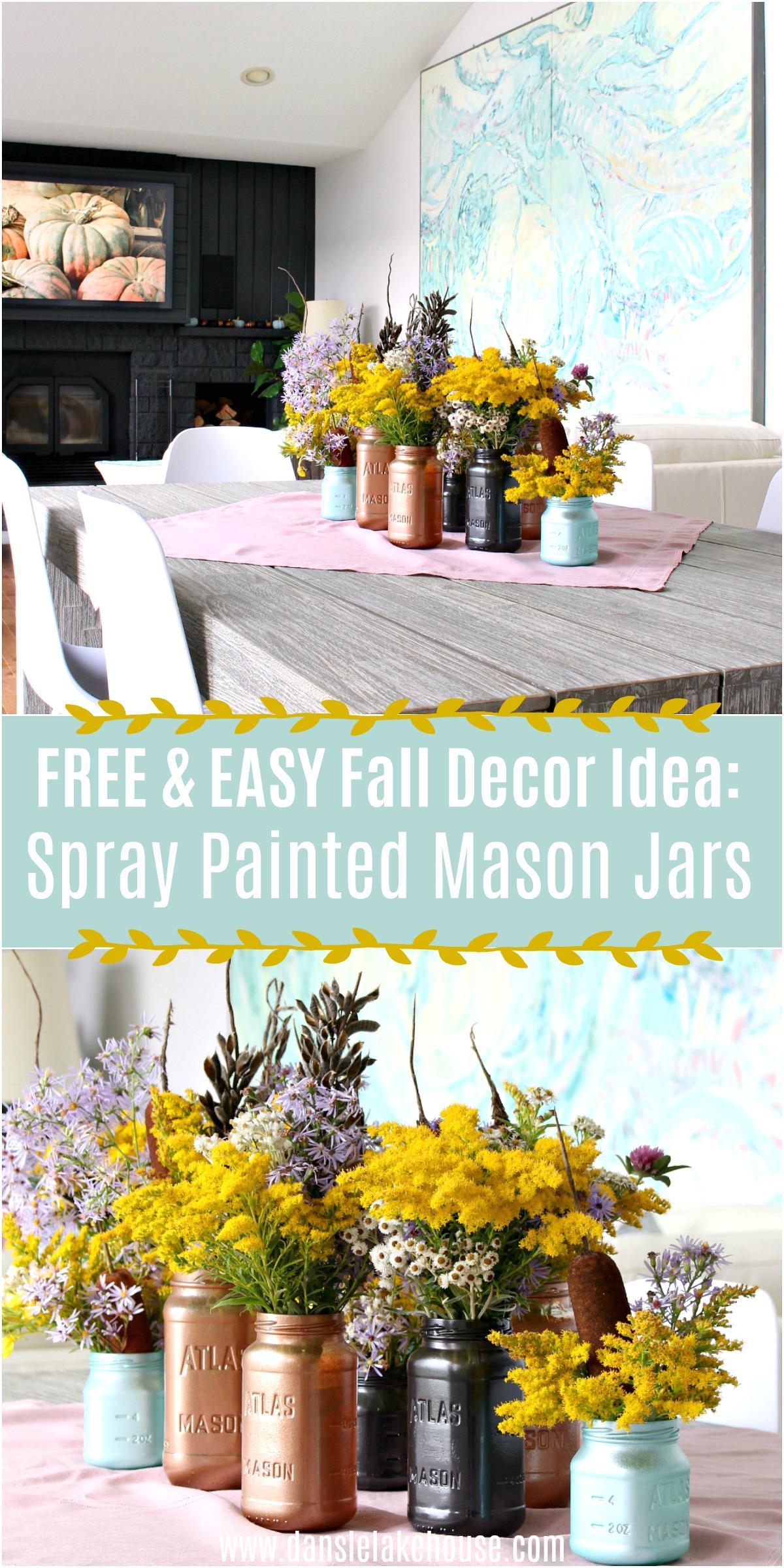 Free & Easy Fall Decor