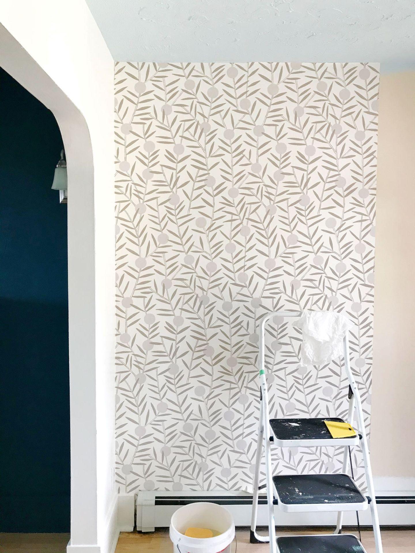 Non-Pasted Wallpaper Installation DIY