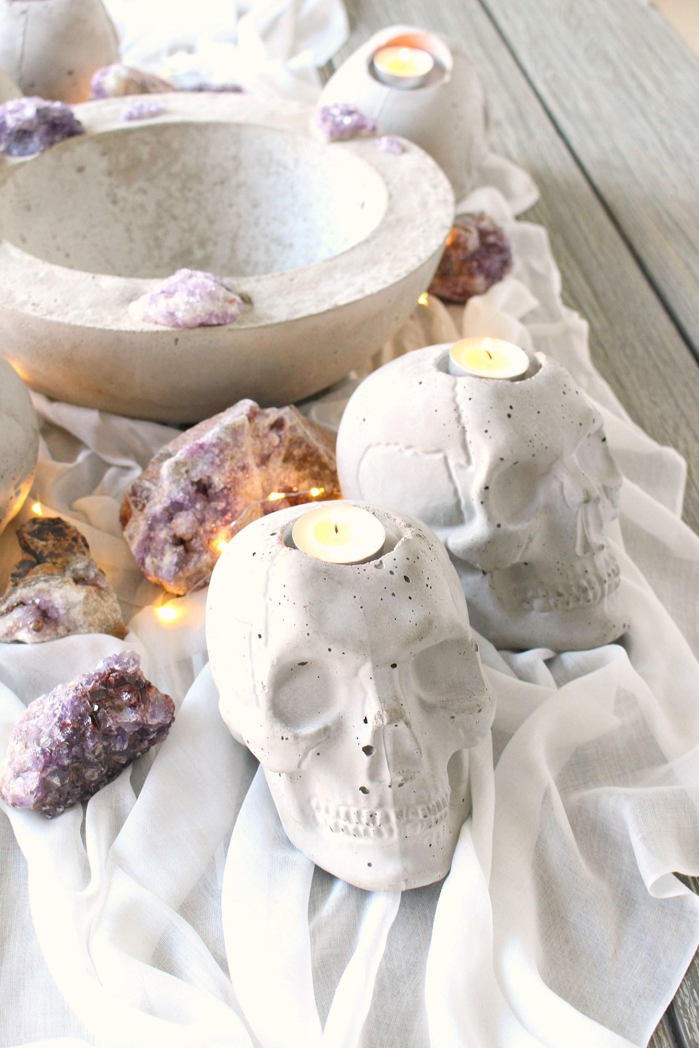How to Make a Concrete Skull