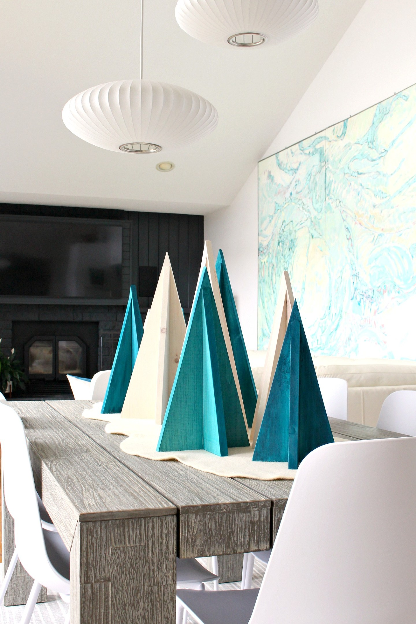 Easy DIY Solid Wood Nordic Trees