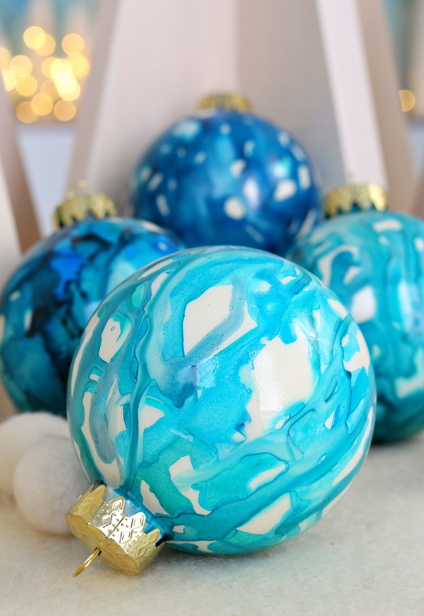 Easy DIY Tree Ornament Kids Can Make