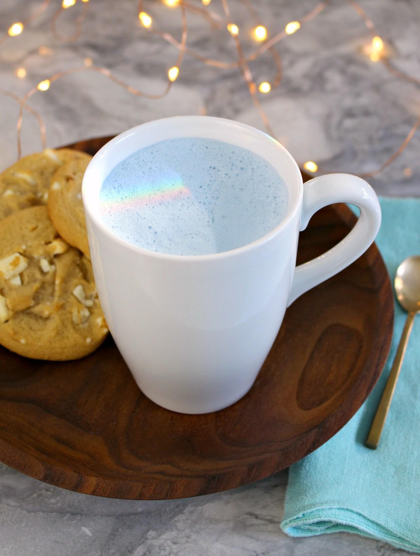 Blue Milk Recipe