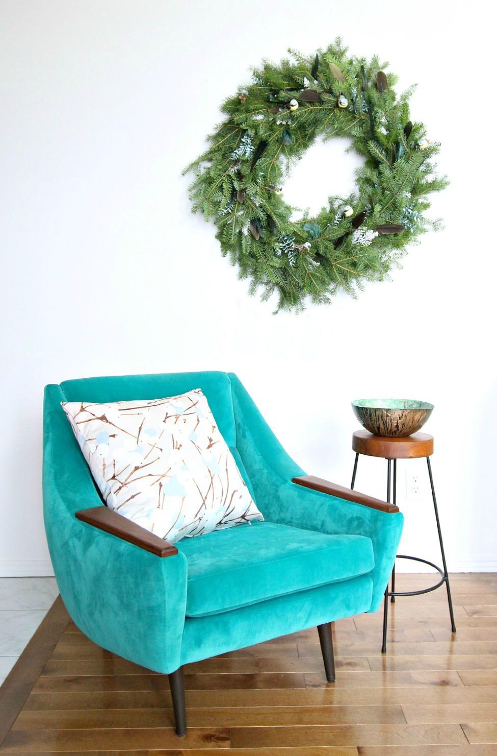 DIY Ever Green Wreath