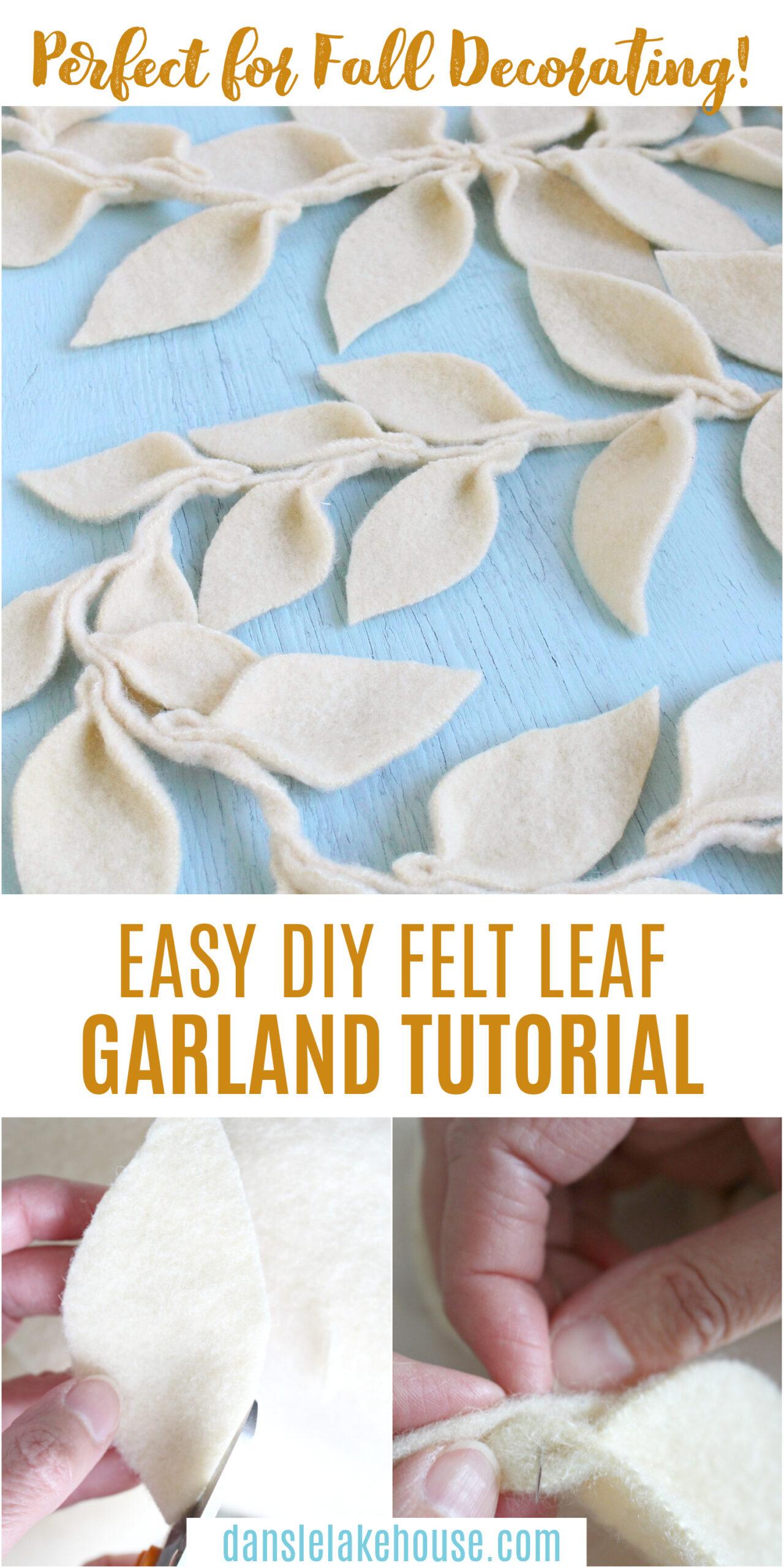 Easy DIY Fall Garland