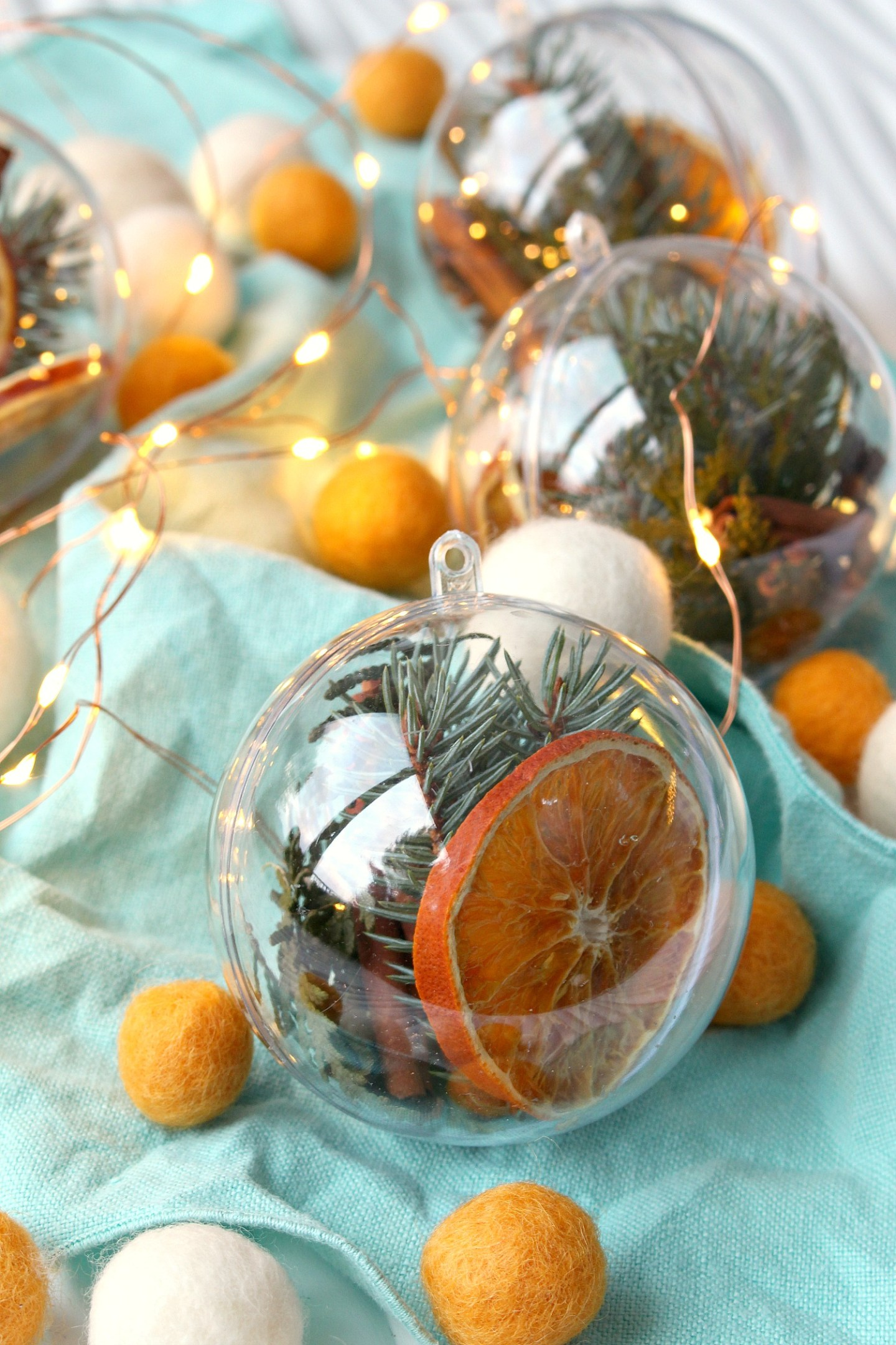 Zero Waste Christmas Ornament Ideas