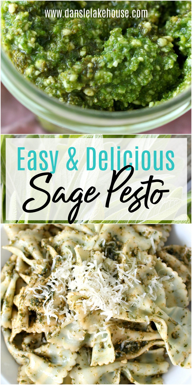 Easy and Delicious Sage Pesto
