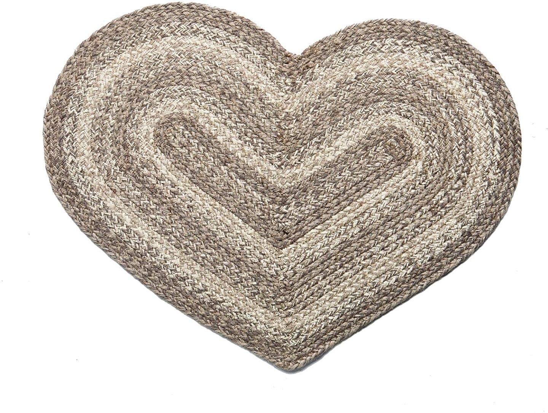 Heart Shaped Front Door Mat
