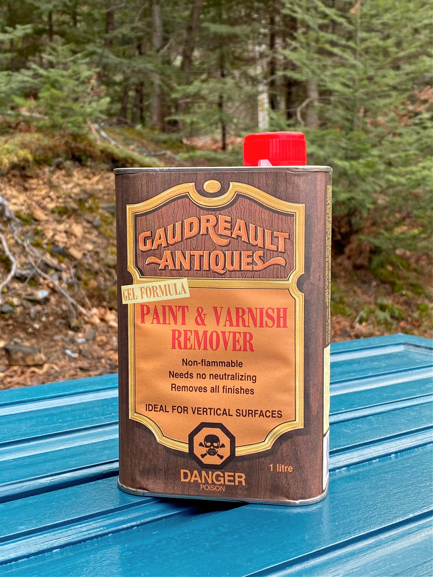 The BEST Paint and Varnish Remover