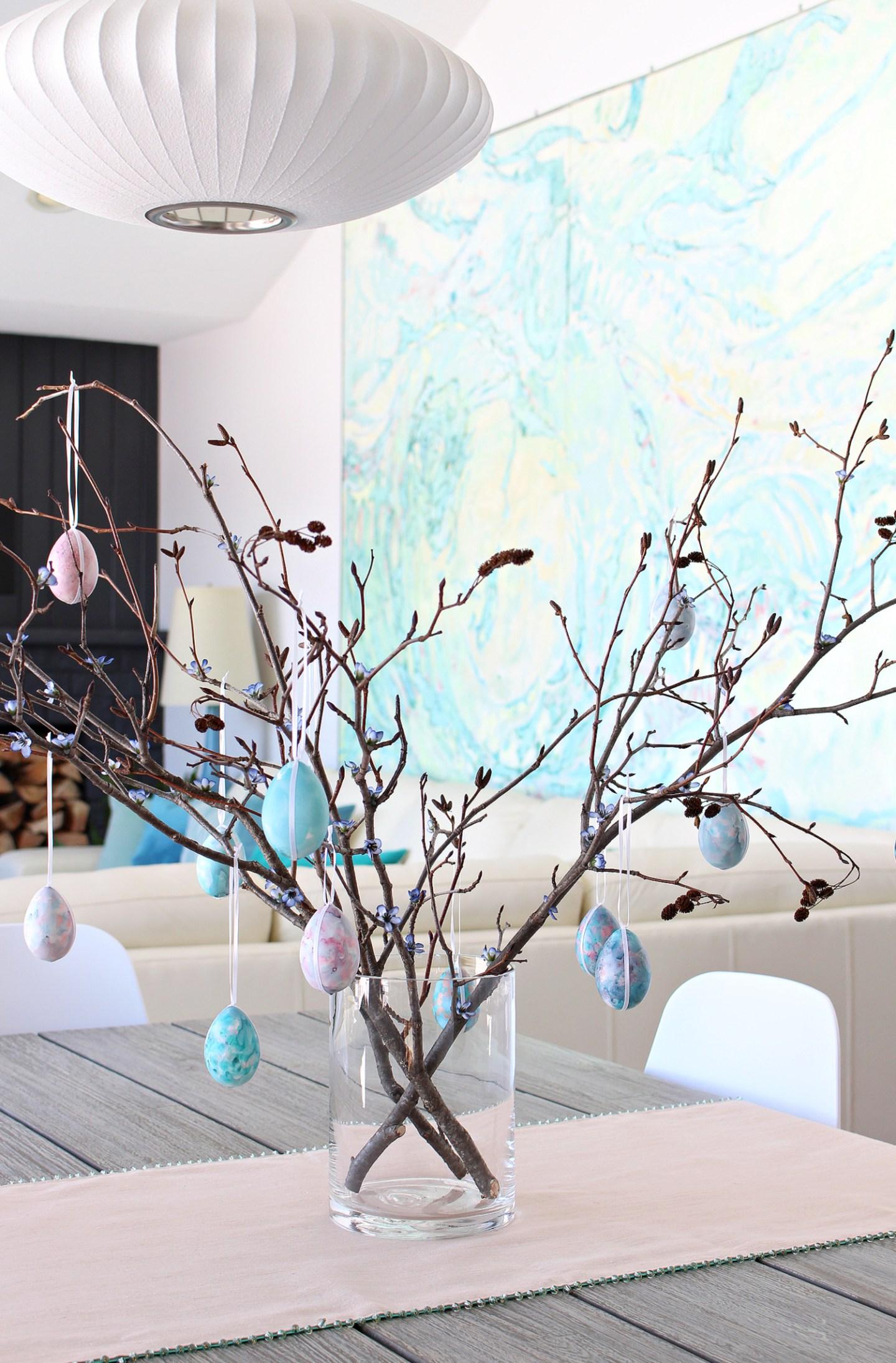 Easy DIY Easter Egg Tree