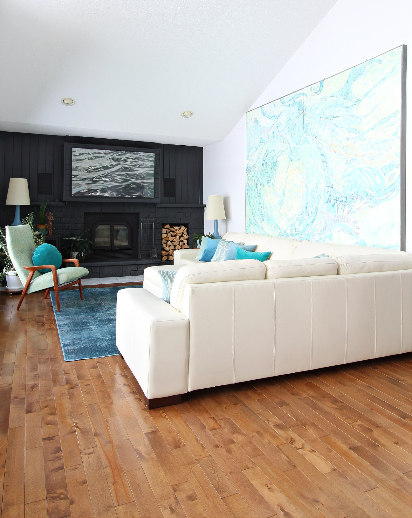 Turquoise Living Room Decor Inspiration