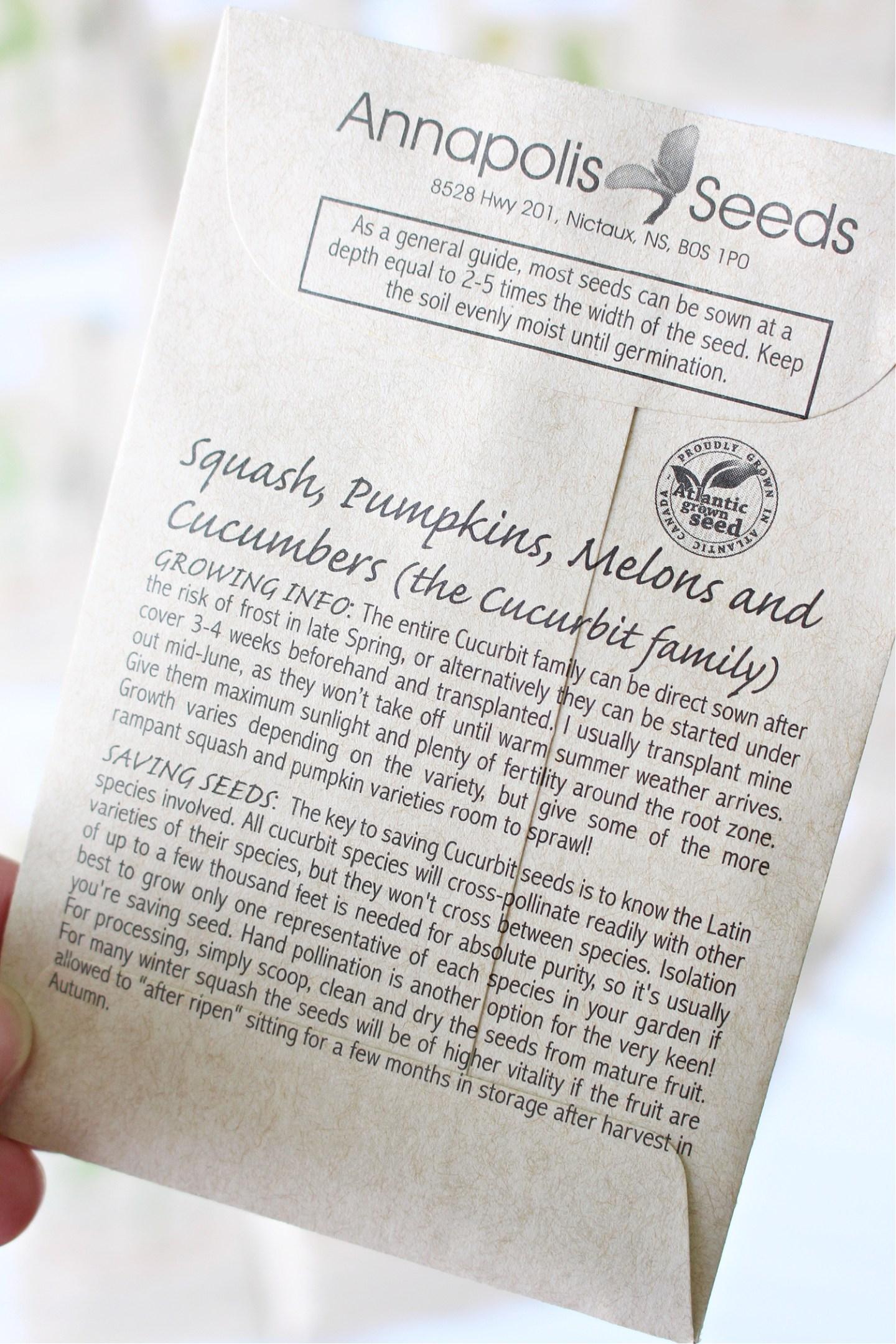 Le meilleur endroit pour acheter des graines au Canada: Revue d'Annapolis Seeds