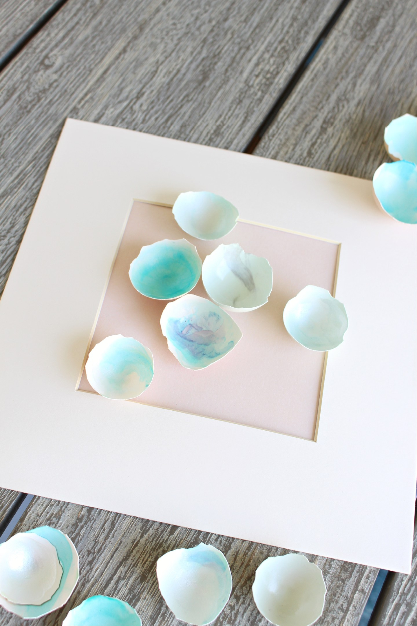 How to Make Painted Egg Shell Art