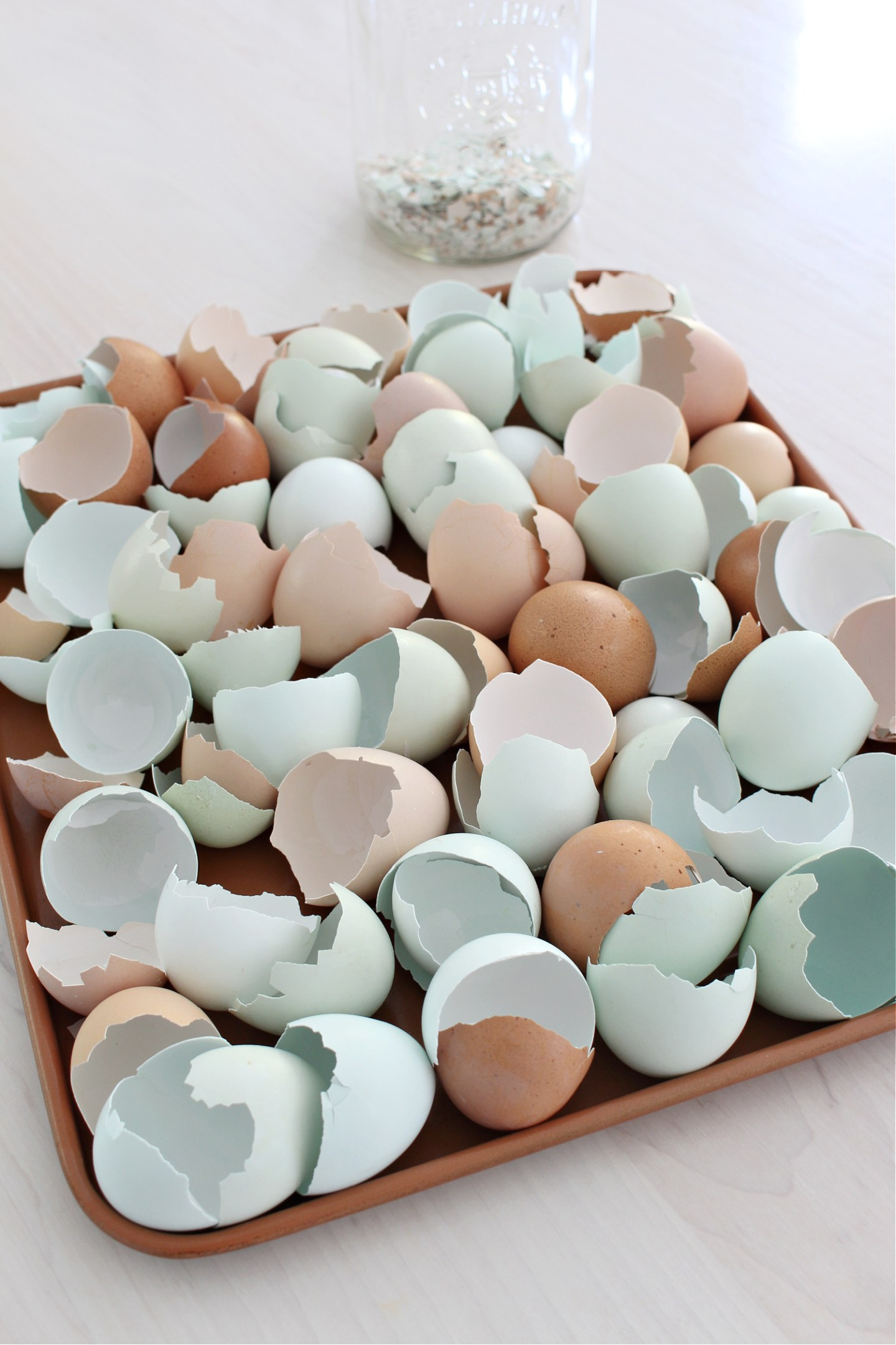 how to bake egg shells to feed to chickens