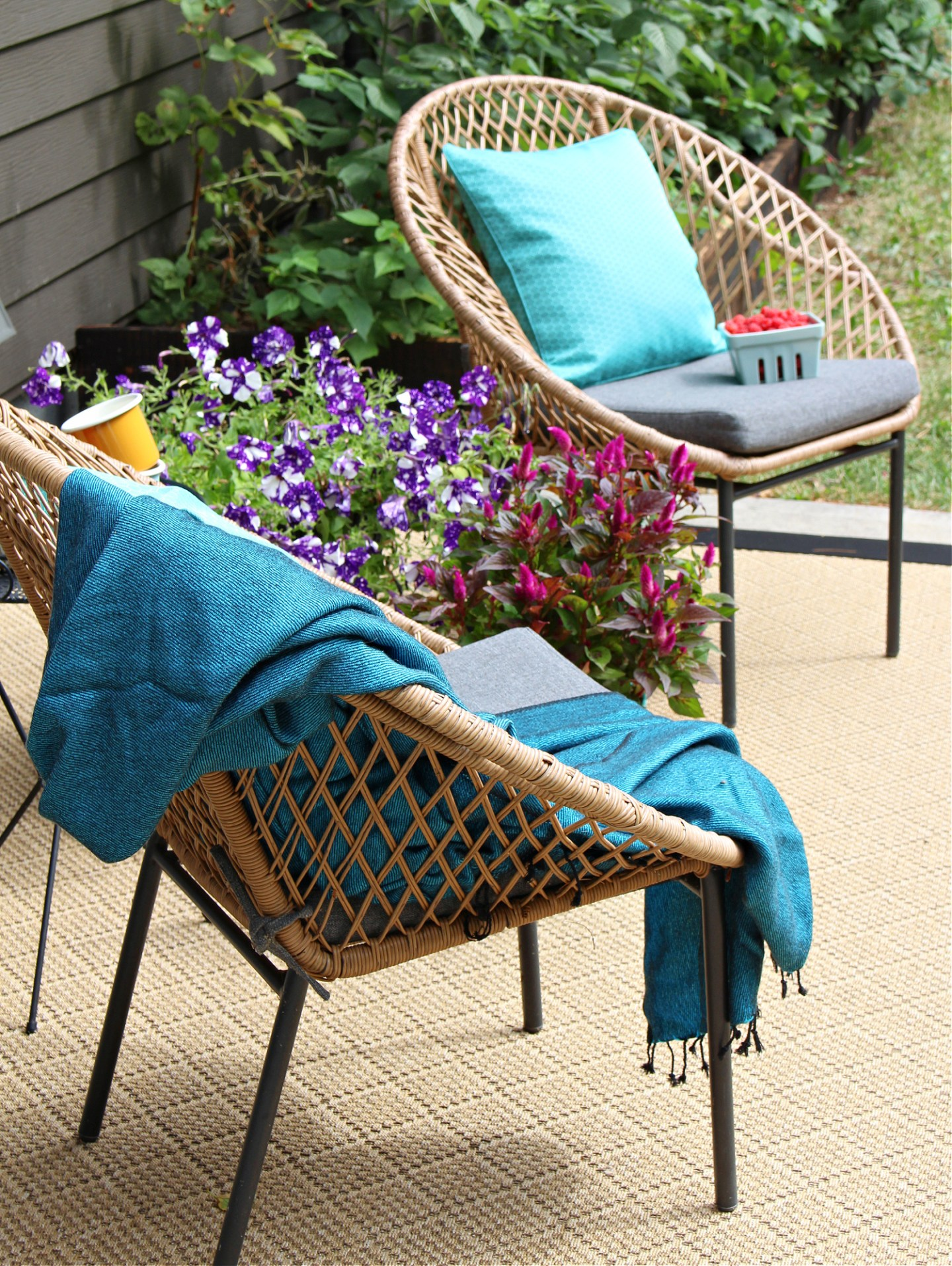 Woven Outdoor Chairs