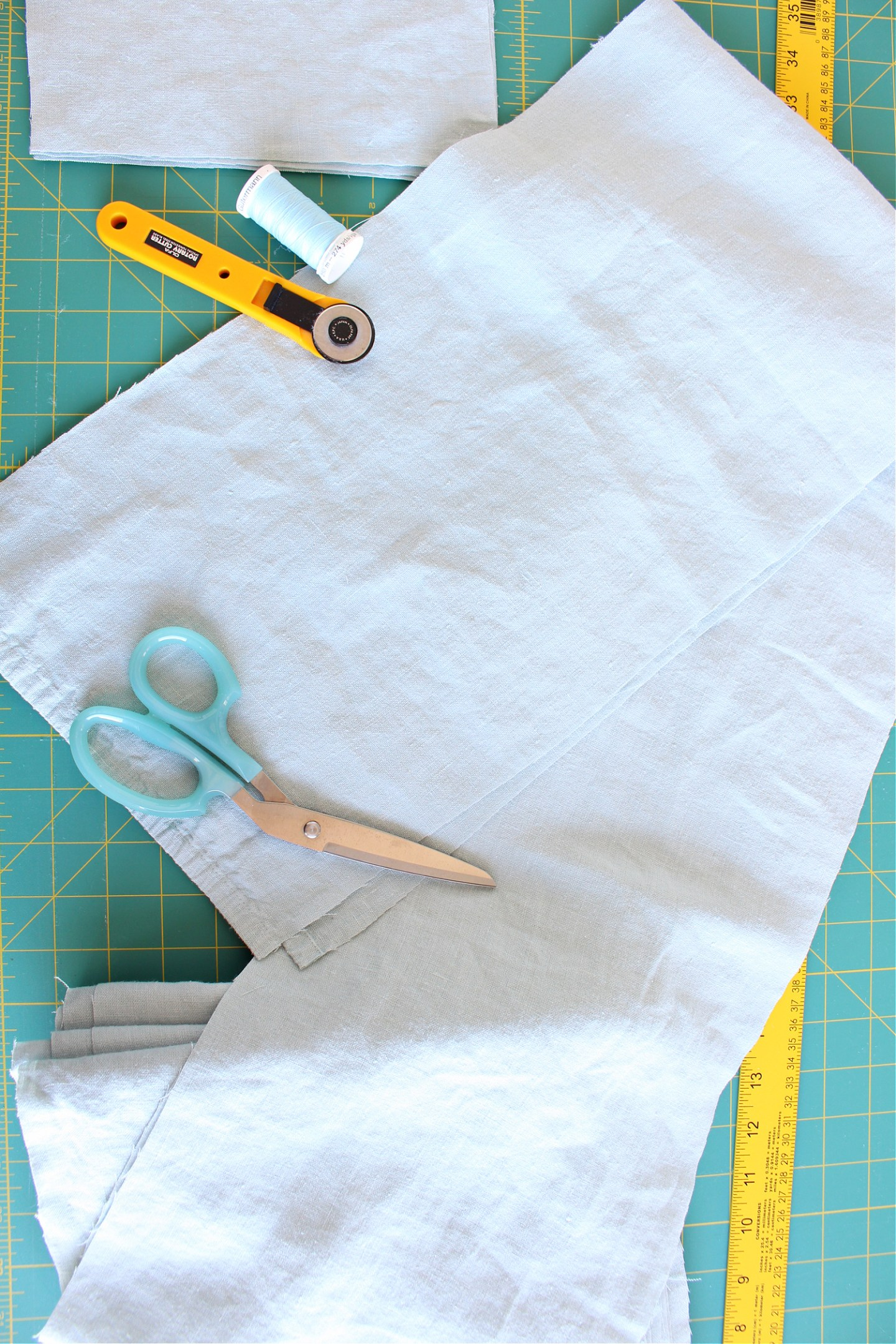 How to sew a flange on a duvet cover