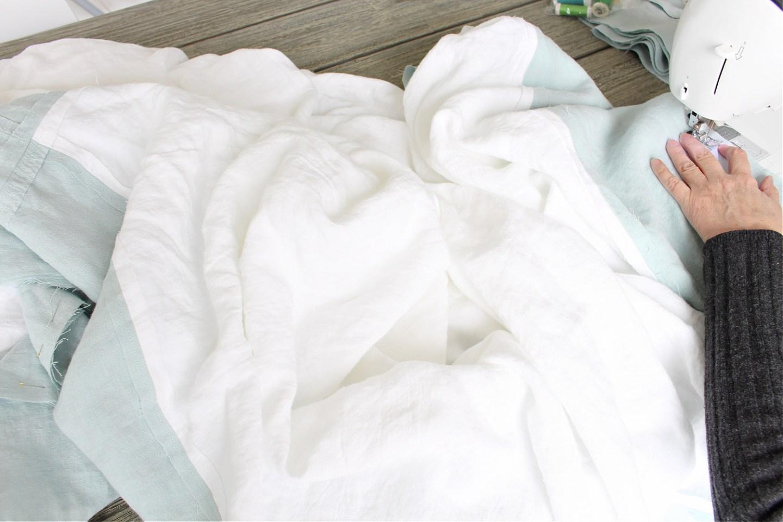 How do you resize a duvet cover