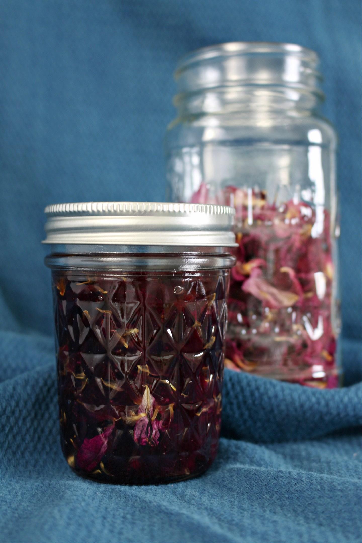 Rose Infused Oil DIY