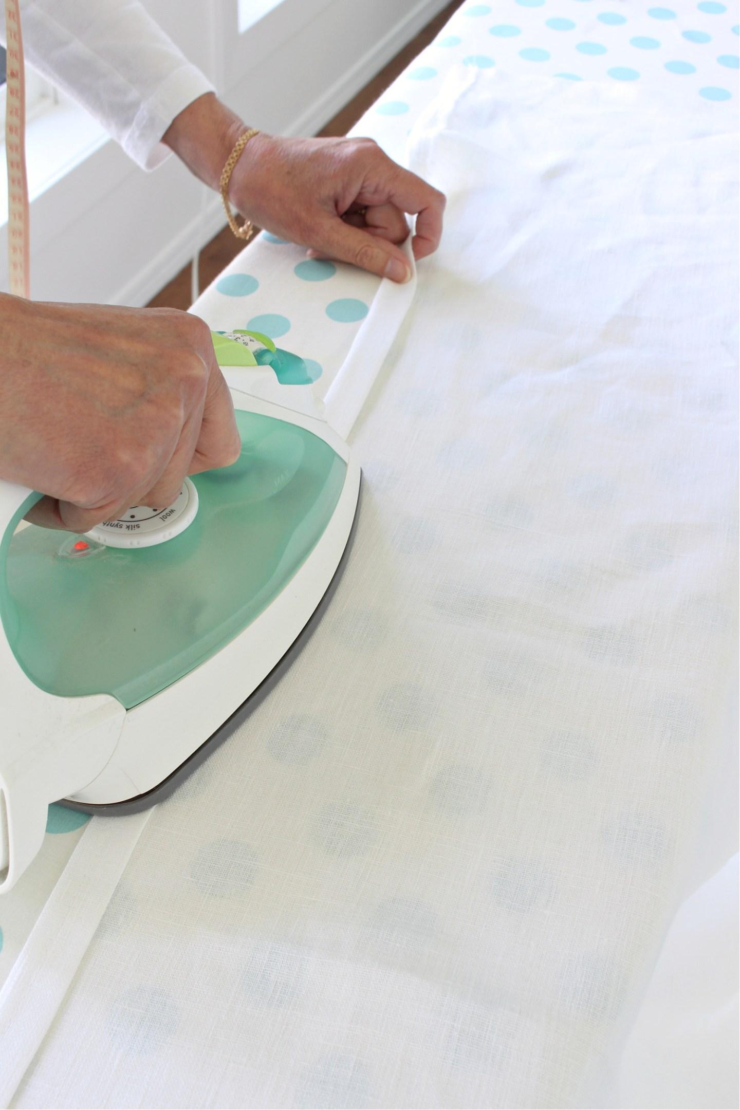 Sewing Curtain Edges