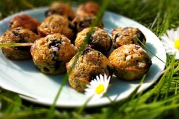 muffins aux myrtilles de Gwyneth Paltrow