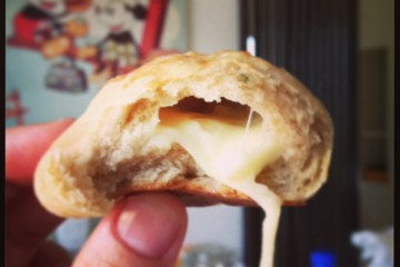 petits pains moelleux au fromage fondant
