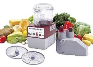 mélangeur et légumes