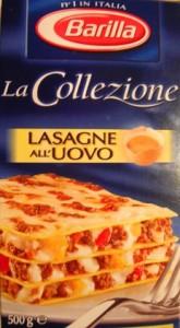 Pate Barille - La Collezione - Lasagne All Uovo