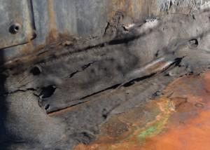 goudron toit reparation - avant