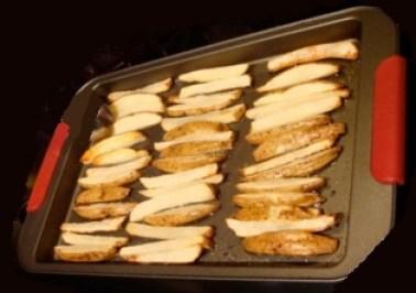 frite au four