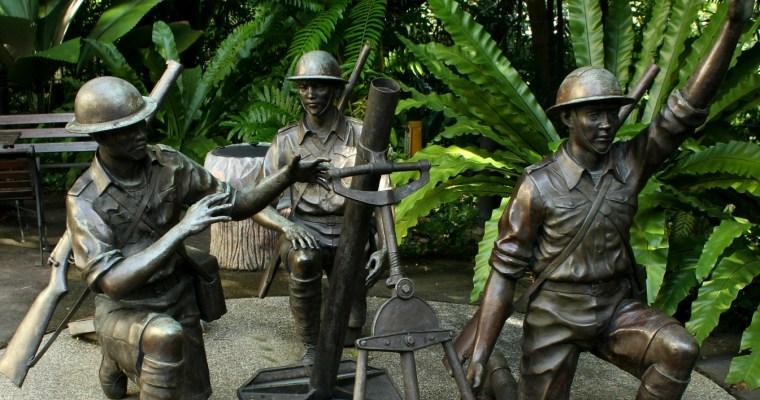 Reflections at Bukit Chandu, Singapore