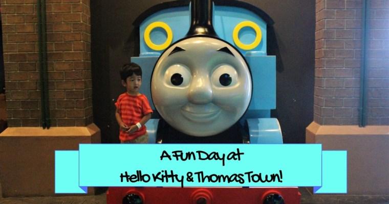 A Fun Day At Hello Kitty And Thomas Town!