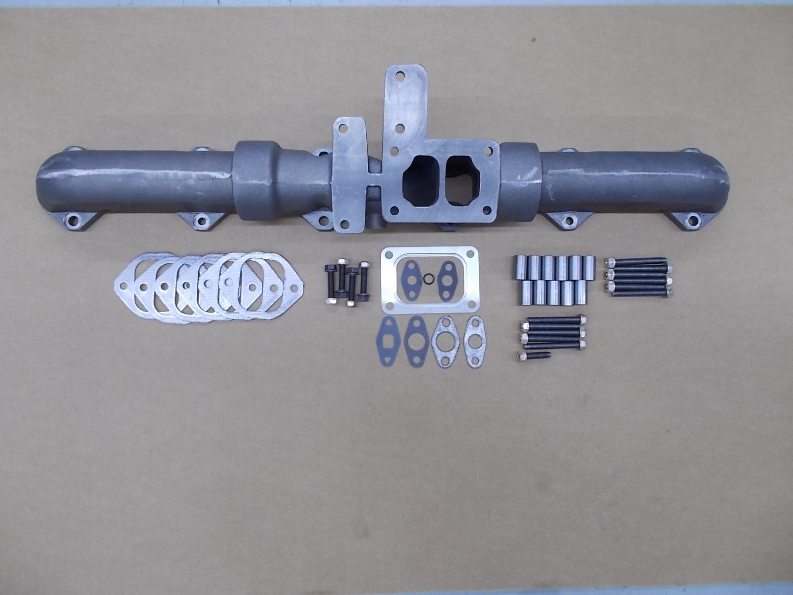 dirks1651 cat 3406 exhaust manifold kit