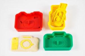 Pour des sablés aux formes d'appareil photo