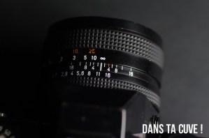 Objectif de base : Carl Zeiss 1,7/50mm