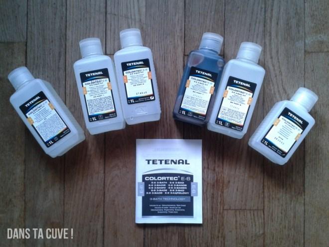 Le kit Tetenal E-6