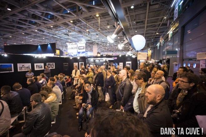 Le grand stand a permis de proposer au plus grand nombre les conférences de l'Agora du Net !
