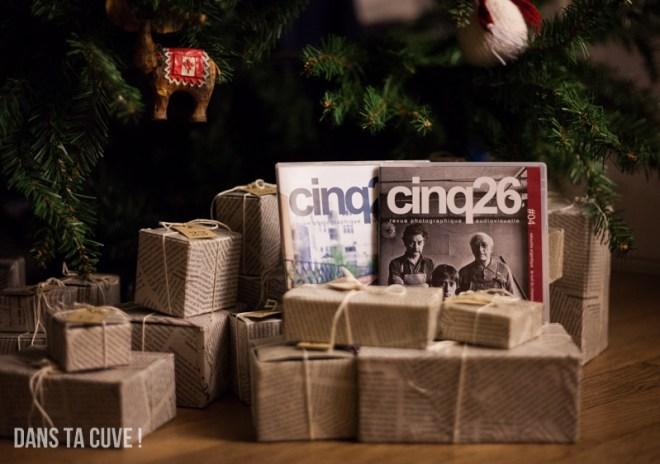 Une excellente idée de cadeaux : la revue Cinq26 !