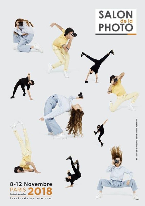 Affiche Salon de la Photo réalisée par Charlotte Abramow