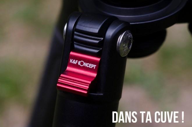 Trépied K&F Concept TM2515T
