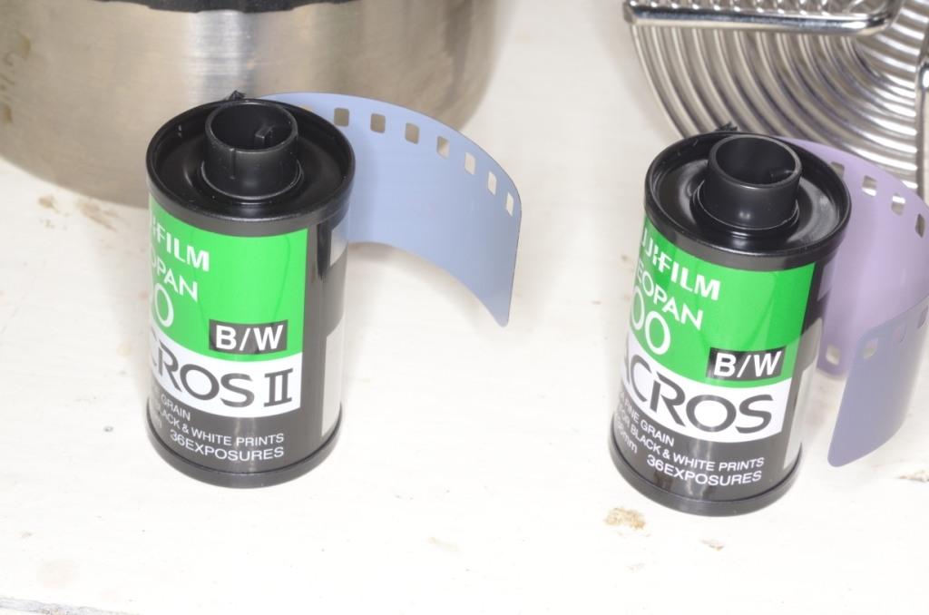 Fujifilm acros vs acros nouvelle version