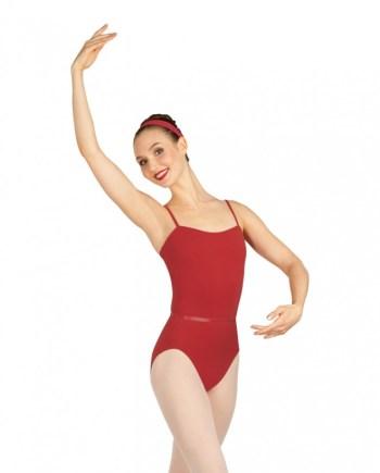 Capezio CAD100 Camisole leotard w/belt balletpakje met taile bandje
