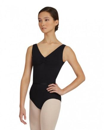 Capezio TC0002 V-Neck Pich front balletpakje