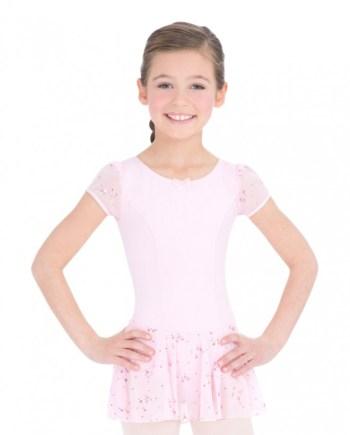 Capezio 3948C balletpakje met rokje sequined puff sleeve dress