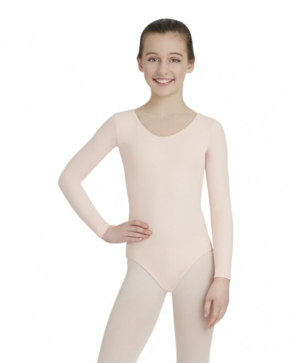 Capezio TB135C balletpakje long sleeve leotard