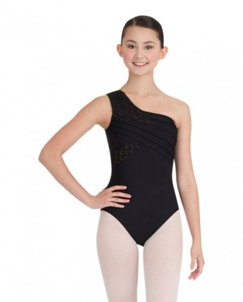 Capezio 10186 one shoulder leotard balletpakje